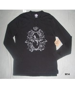 Route 66 Black Long Sleeved Tee Size XLarge NWT - $17.99