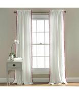 Pom Pom Window Panel Single Pink 50x84 new $69.99 - $19.80