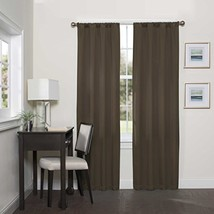 Eclipse Darrell Thermaweave Blackout Window Curtain Panel, 37x63 Inches,... - $18.75