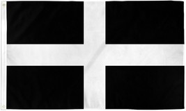 CORNWALL 3X5' FLAG NEW 3X5 FEET BIG FLAG SOUTH WEST ENGLAND TRURO CORNIS... - $9.85