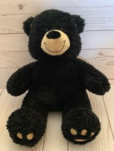 "Build-A-Bear Workshop Plush Black Teddy Bear - Stuffed Animal 16"" - $15.83"