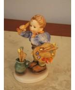 pristine collectible hummel the artist figuerine - $118.79