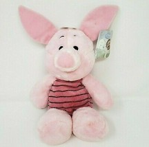 "13"" NEW W TAG DISNEY WINNIE THE POOH BABY PIGLET STUFFED ANIMAL PLUSH TO... - $28.05"