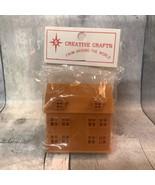 Vtg Creative Crafts Miniature Toy Dollhouse Playroom Child Paintable Pla... - $44.99