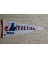 Montreal Expos Defunct MLB Felt Pennant Baseball Souvenir - $14.99