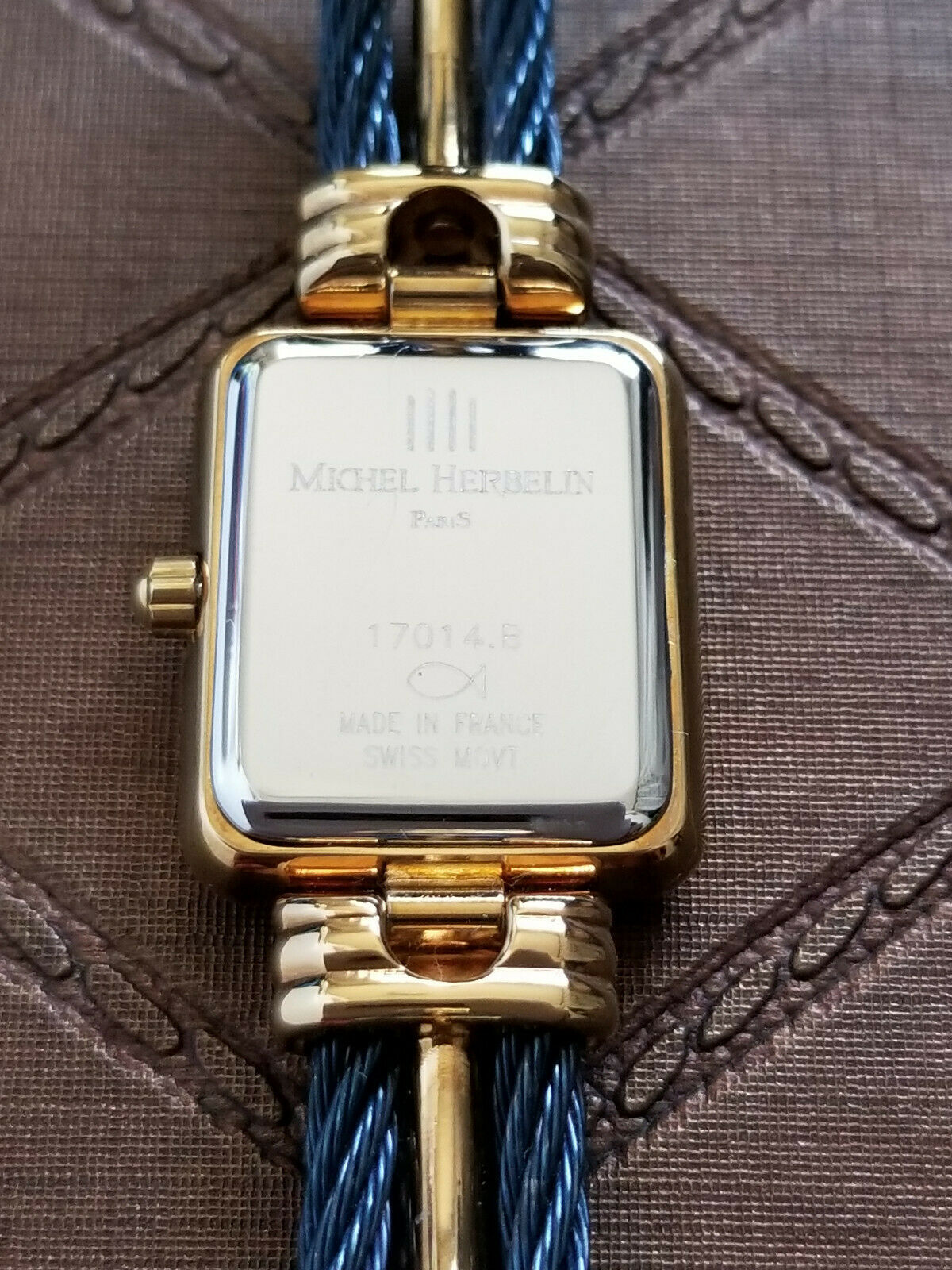 Michel Herbelin vintage watch SWISS MOVEMENT QUARTZ Made in France