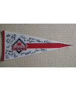 Signed Vancouver Canadians Felt Pennant Baseball Souvenir - $14.99