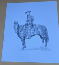 Set Of 2 Lori Neises Pencil Drawing Prints  signed Portrait - $49.49
