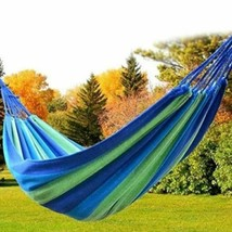 Hammock Outdoor Hanging Camping Swing Bed Double Chair Person Rope Net T... - $18.96