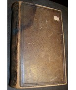 1901 ANTIQUE LEATHER BOUND HEBREW BIBLE JUDAISM - $98.99
