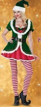 Incharacter Holiday Honey Sexy Christmas Elf Santa Claus Reindeer Costum... - $139.95