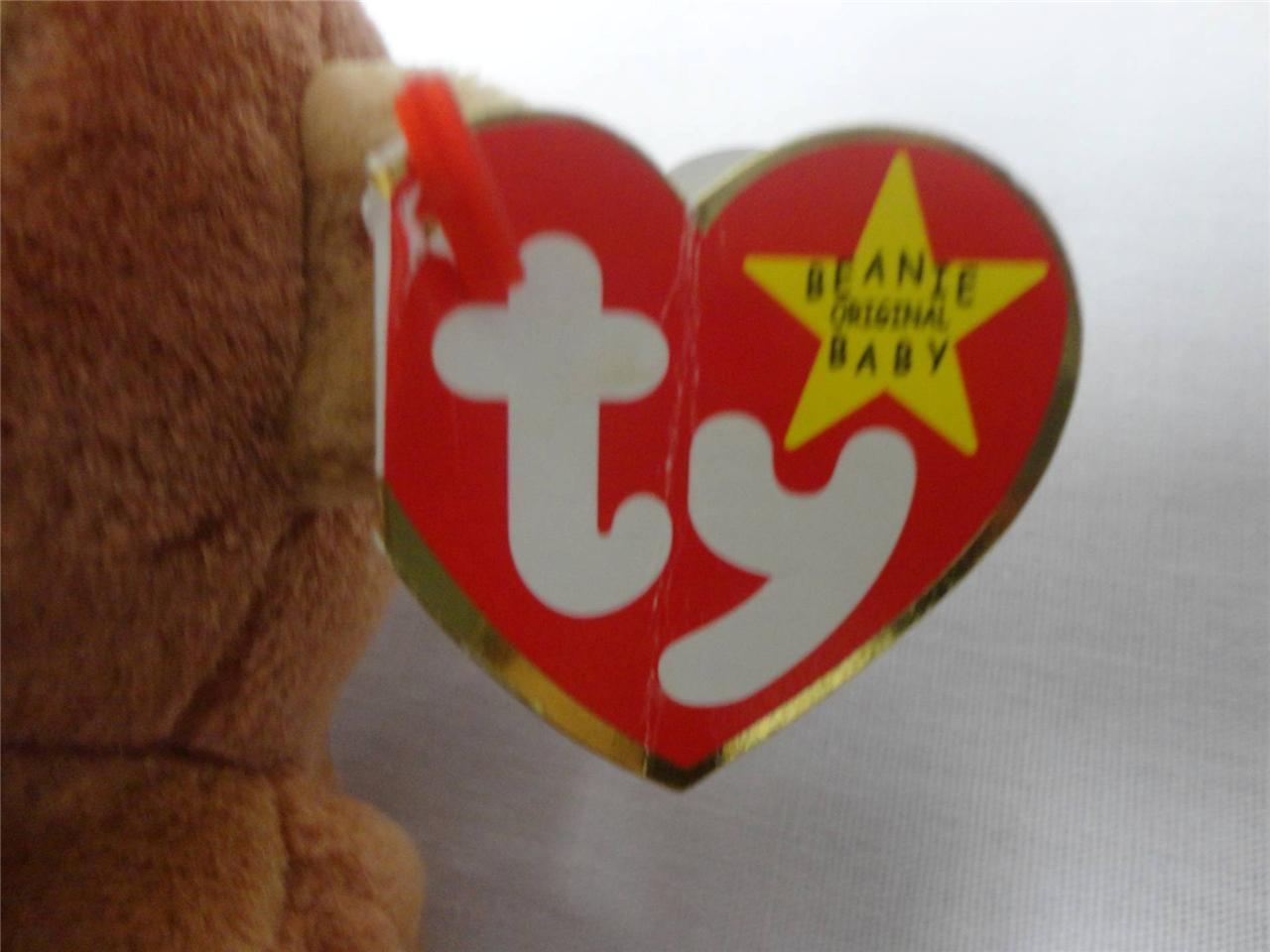 TY Beanie Baby Bongo the Monkey August 17th 1995