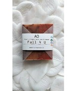 """Organic """"Fall 4 U"""" Butter Bar Deluxe Clay + Fruit Spice Handcrafted Soap.  - $3.96"""