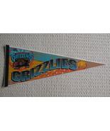 Vancouver Grizzlies NBA Felt Pennant Lapel Pin Basketball  - $24.99