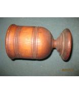 antique/vintage Wooden ware  treenware chalice - $19.00