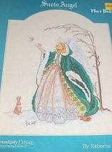 MAR BEK SNOW ANGEL COUNTED CROSS STITCH CHART - $3.95