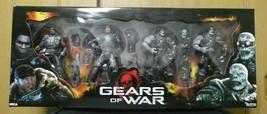 Gears of War Figure Box Set Marcus Augustus Locust Drone Sniper Neca New - $249.80