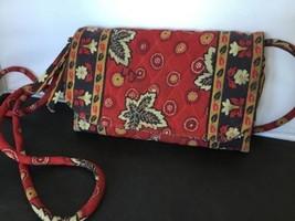 Vera Bradley Signature Handbag Crossbody in Red Coin AA - ₹704.48 INR