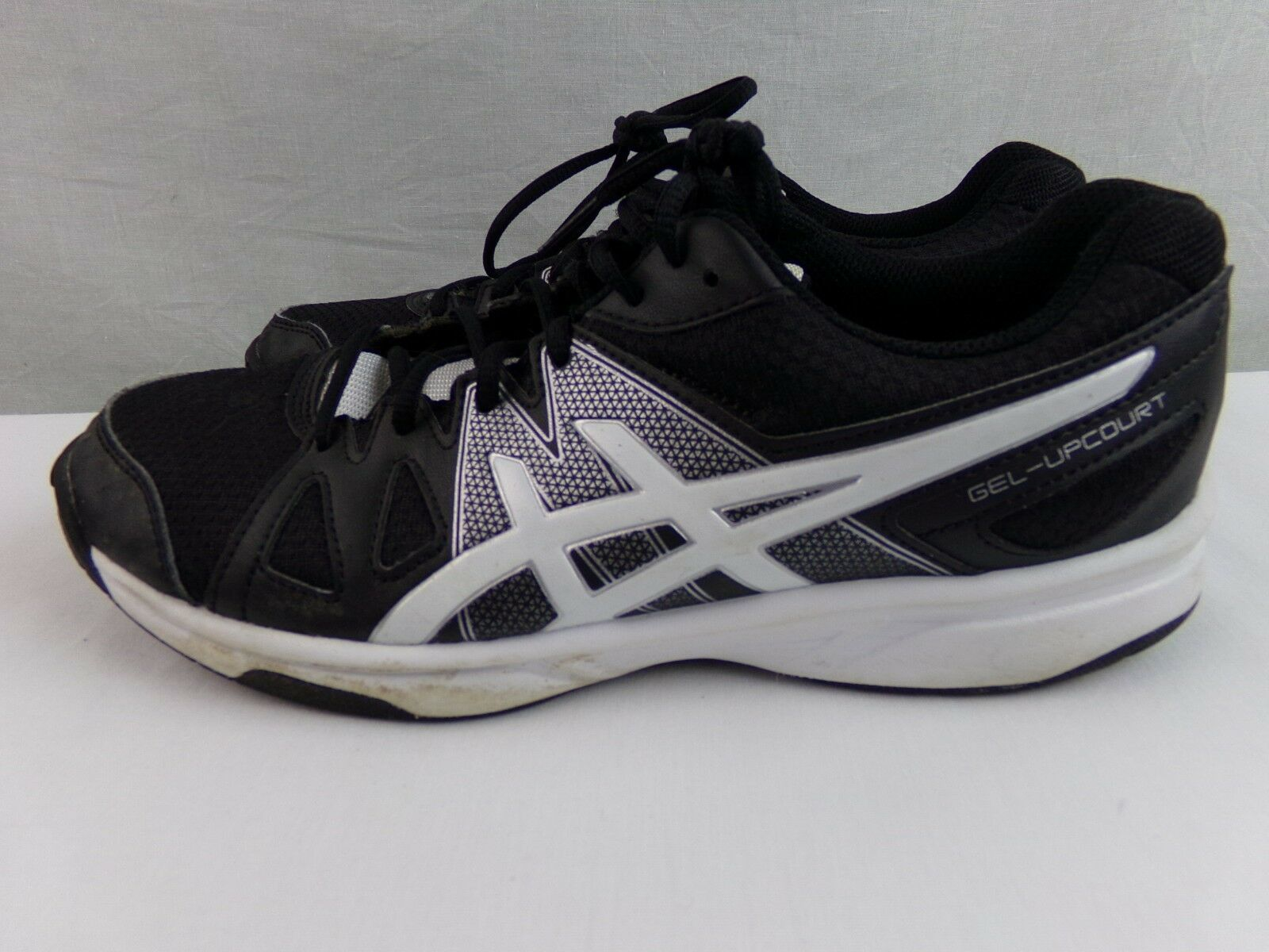 Women's Black White Asics Sneakers Athletic Shoes Size 9