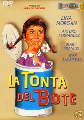 La Tonta Del Bote Dvd 1970 Lina Morgan Spanish Comedy Sealed