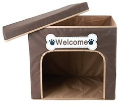 Penn Plax: Fold & Go Dog / Cat House with Top Storage Compartment for Ho... - $24.49