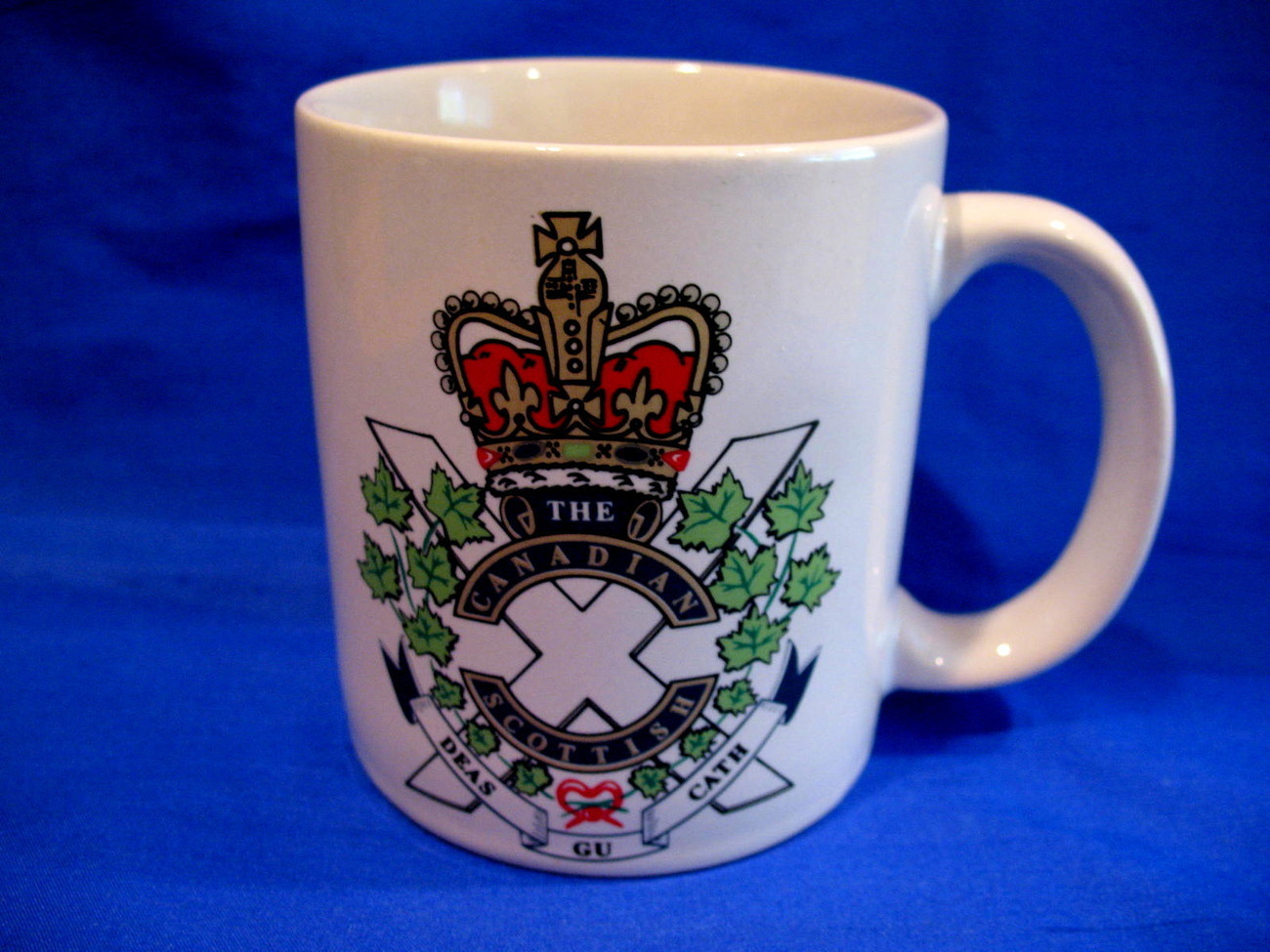 Primary image for The Canadian Scottish Regiment Coffee Mug Tea Cup Souvenir Infantry Reserve Unit