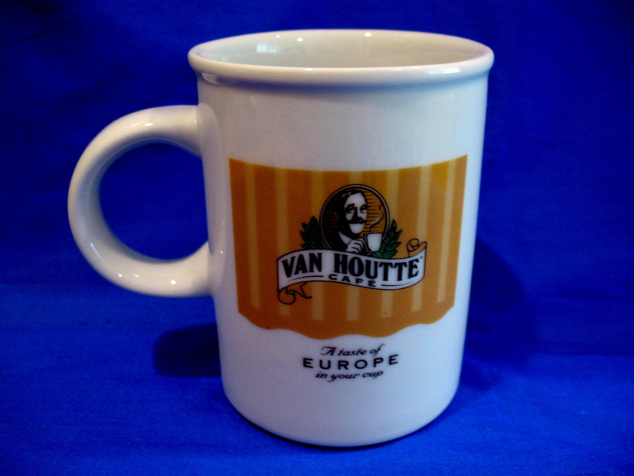 Primary image for Van Houtte Cafe Coffee Mug Tea Cup A Taste of Europe Souvenir Collectible