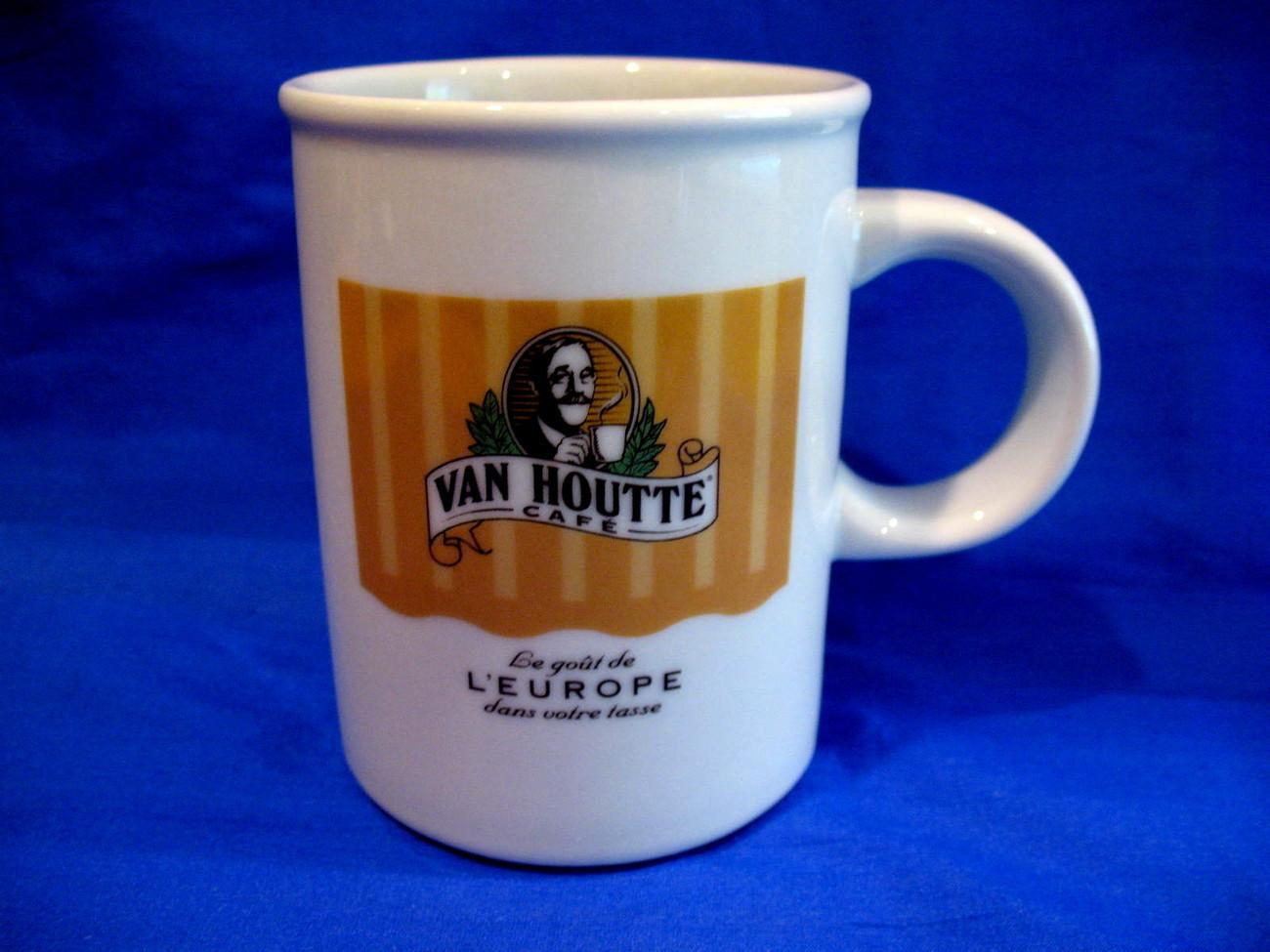 Van Houtte Cafe Coffee Mug Tea Cup A Taste of Europe Souvenir Collectible