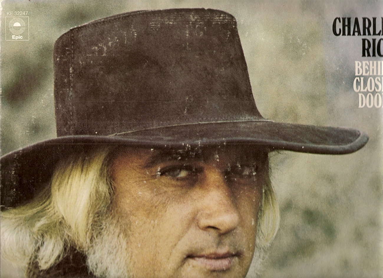 LP--Charlie Rich - Behind Closed Doors