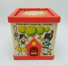Vintage 1970 Fisher Price Toys Jack In The Box Puppet Toy 138 Made In The USA - $14.70