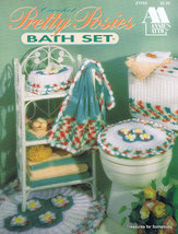 Annie's Crochet Pattern Pretty Posies Bath Set  - $6.50