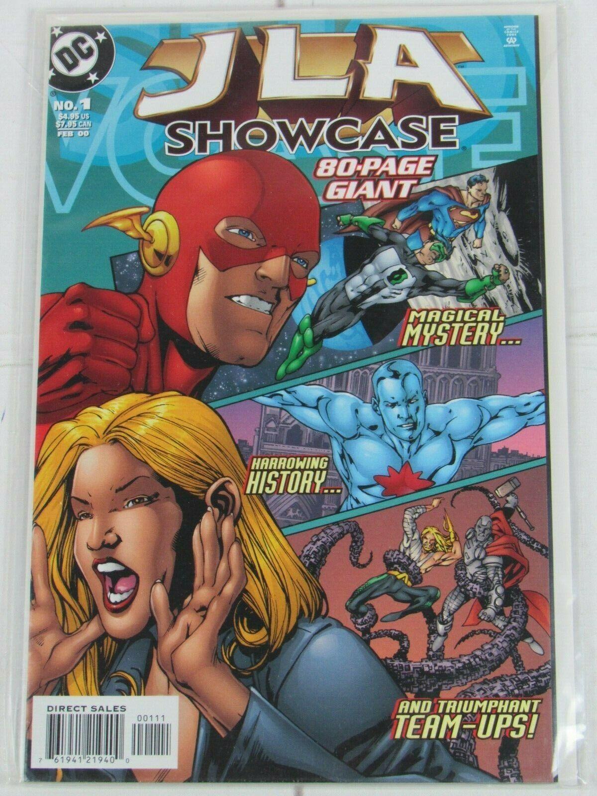 JLA Showcase 80-Page Giant #1 2000 DC Comics - C4951