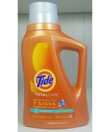 (1) Tide Total Care Renewing Rain Laundry Detergent 50 Fl Oz New Old Stock - $49.50