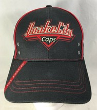 Quaker City Caps Baseball Hat Black Adjustable Buckle Manufacturer Promo... - $19.80