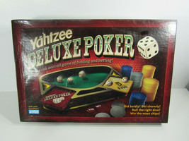 2005 - Yahtzee Deluxe Poker game - 2 to 6 players - complete  - $36.62
