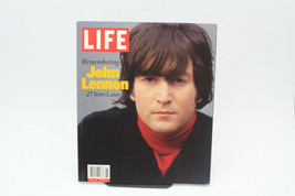 Life: Remembering John Lennon: 25 Years Later by LIFE MAGAZINE EDITORS - $15.83