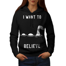 Loch Ness Sweatshirt Hoody Want To Believe Women Hoodie - $21.99+