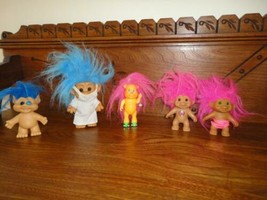 Trolls Lot of 5 Forest Troll / Walking Animal Troll / Dr / Strawberry / ... - $57.83
