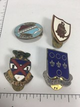 Assorted Lot US Military Army Infantry Pins Vintage    Collectibles  A - $22.05