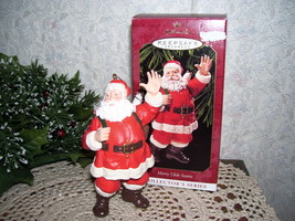 HALLMARK ORNAMENT MERRY OLDE SANTA 1999 MIB - $14.26