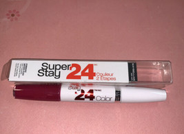 MAYBELLINE - SuperStay 24 2-Step Lipcolor 035 Keep It Red - 0.14 oz. - $8.66