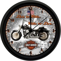 8 in clock harley davidson 1 thumb200