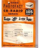 Sams Photofact CB Radio CB-105  December 1976 - $4.00