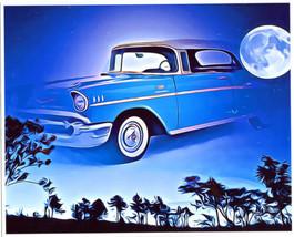 classic car abstract original art print vintage antique cars abstract la... - $9.99