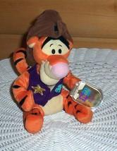 "Winnie Pooh Sheriff Tigger in Hat & Vest Plush Mattel 8"" Star Bean New Cased Tag - $14.79"