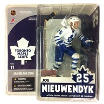 Joe Nieuwendyk 2005 McFarlane Toys Sportspicks NHL Series 11 Toronto Map... - $14.80