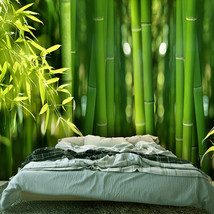 FATMAN Custom Size Photo 3D pure fresh bamboo forest living room bedroom wallpap - $35.95