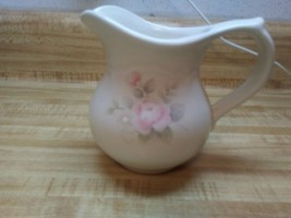 Pfaltzgraff rose cream pitcher - $19.79