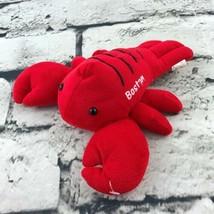 Boston Lobster Souvenir Plush Red Sea Life Seafood Stuffed Animal Soft Toy - $7.91