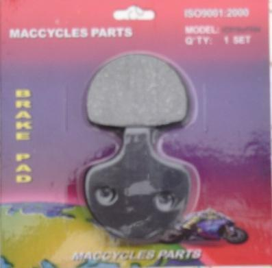 Disc Brake Pads for the Harley XL1200S 96-99 Front (1 set)